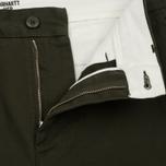 Мужские брюки Carhartt WIP Johnson 8.75 Oz Cypress Rinsed фото- 1