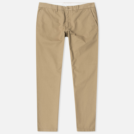 Мужские брюки Carhartt WIP Johnson 8.75 Oz Leather Rinsed