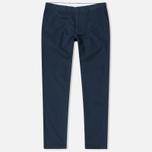 Carhartt WIP Johnson 8.75 Oz Men`s Trousers Navy Rinsed photo- 0