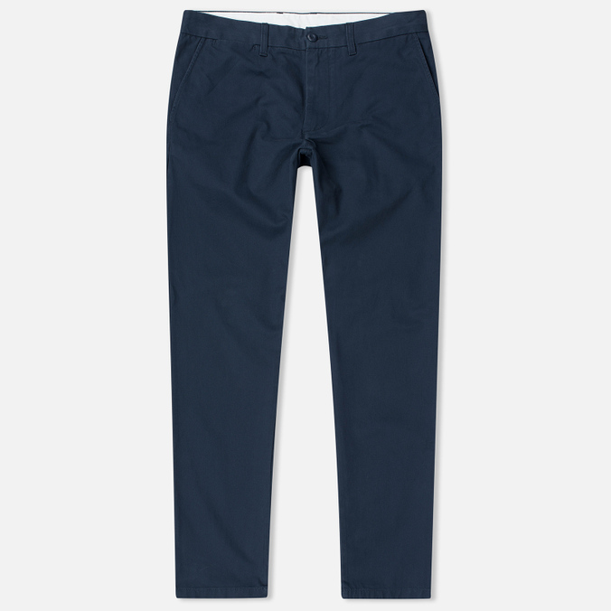 Мужские брюки Carhartt WIP Johnson 8.75 Oz Navy Rinsed