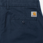 Мужские брюки Carhartt WIP Johnson 8.75 Oz Navy Rinsed фото- 3