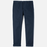 Мужские брюки Carhartt WIP Johnson Questa Twill 6 Oz Duke Blue Rinsed фото- 0