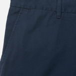 Мужские брюки Carhartt WIP Johnson Questa Twill 6 Oz Duke Blue Rinsed фото- 2