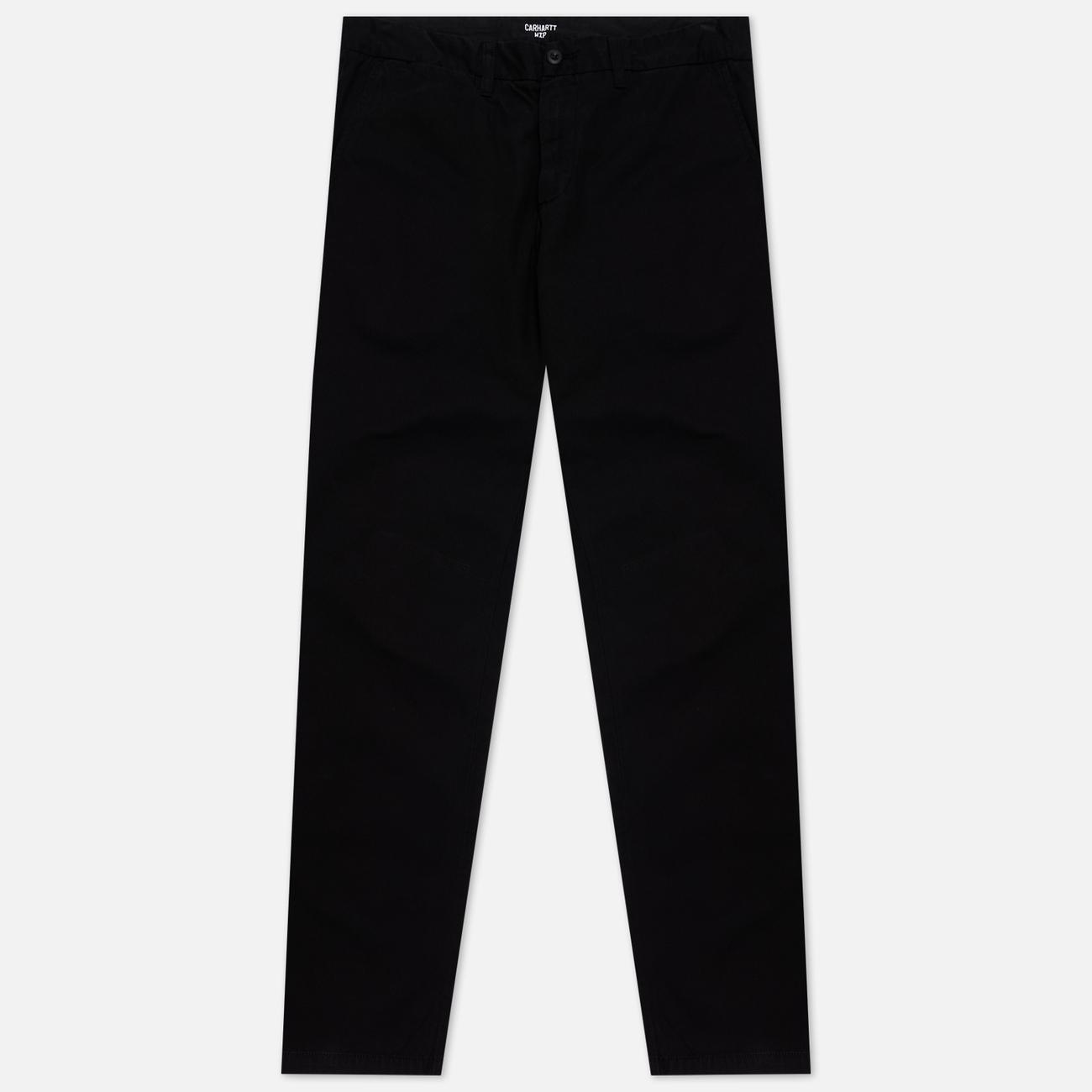 Мужские брюки Carhartt WIP Johnson Twill 8.4 Oz Black