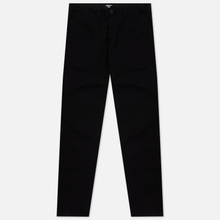Мужские брюки Carhartt WIP Johnson Twill 8.4 Oz Black фото- 0