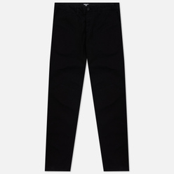 Мужские брюки Carhartt WIP Johnson Twill 8.4 Oz Black