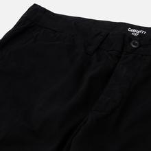 Мужские брюки Carhartt WIP Johnson Twill 8.4 Oz Black фото- 2