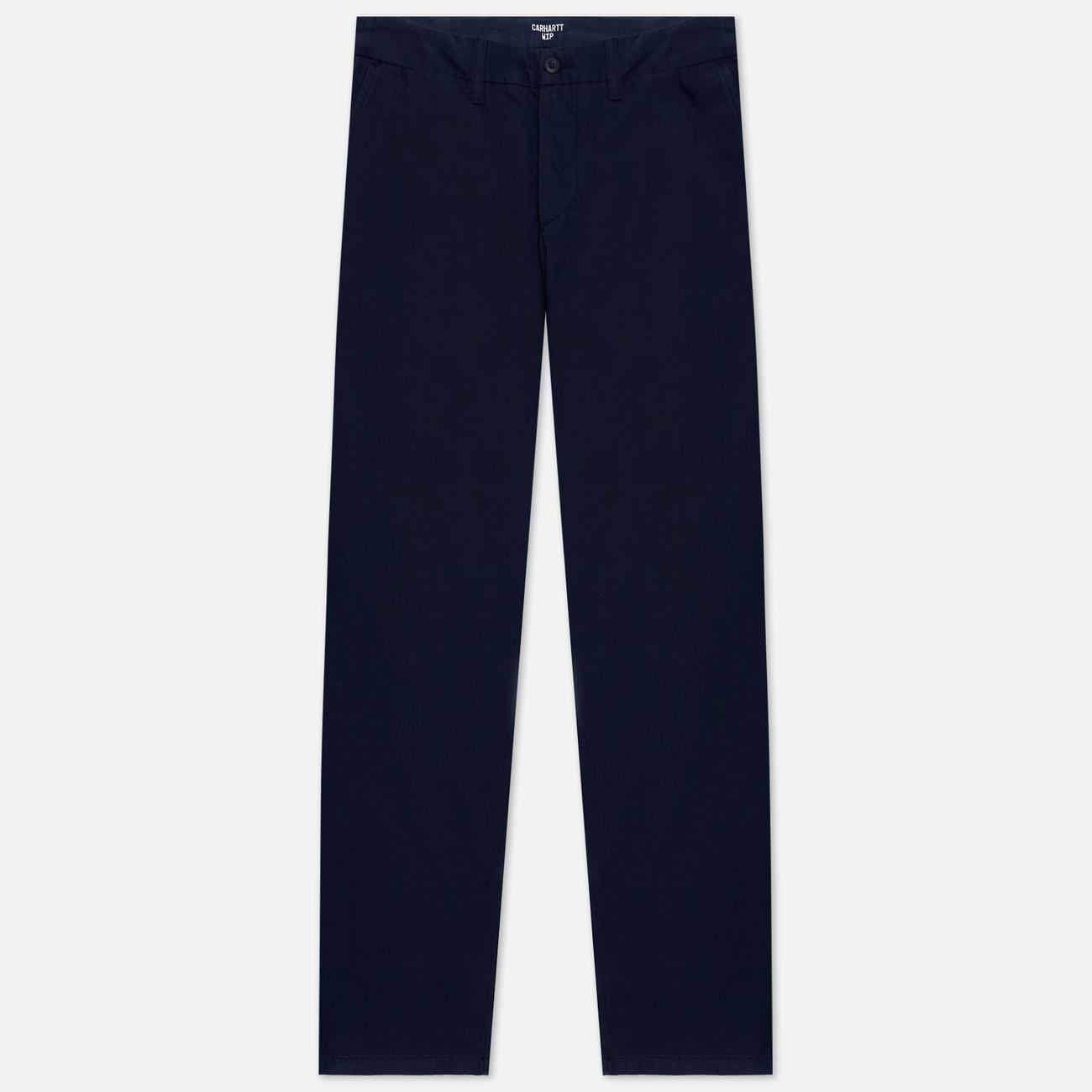 Мужские брюки Carhartt WIP Johnson Twill 8.4 Oz Dark Navy