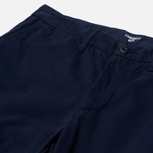 Мужские брюки Carhartt WIP Johnson Twill 8.4 Oz Dark Navy фото- 2