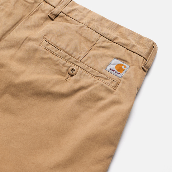 Мужские брюки Carhartt WIP Johnson Twill 8.4 Oz Leather