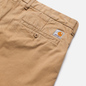 Мужские брюки Carhartt WIP Johnson Twill 8.4 Oz Leather фото - 2