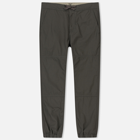 Мужские брюки Carhartt WIP Marshall Jogger 6.5 Oz Air Force Grey Rinsed