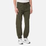 Мужские брюки Carhartt WIP Marshall Jogger 6.5 Oz Cypress Rinsed фото- 3