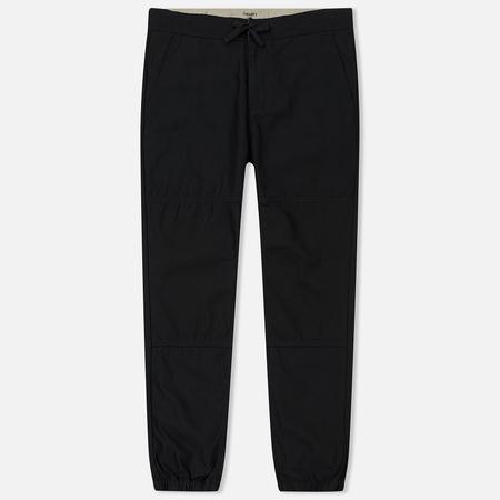 Мужские брюки Carhartt WIP Marshall Jogger 8 Oz Black Stone Washed