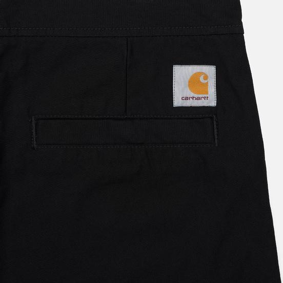 Мужские брюки Carhartt WIP Marshall Jogger 9 Oz Black Rinsed