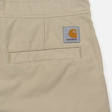 Мужские брюки Carhartt WIP Marshall Jogger 9 Oz Wall Stone Washed фото- 4