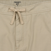 Мужские брюки Carhartt WIP Marshall Jogger 9 Oz Wall Stone Washed фото- 5