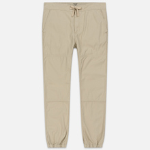 Мужские брюки Carhartt WIP Marshall Jogger 9 Oz Wall Stone Washed фото- 0