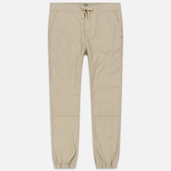 Мужские брюки Carhartt WIP Marshall Jogger 9 Oz Wall Stone Washed