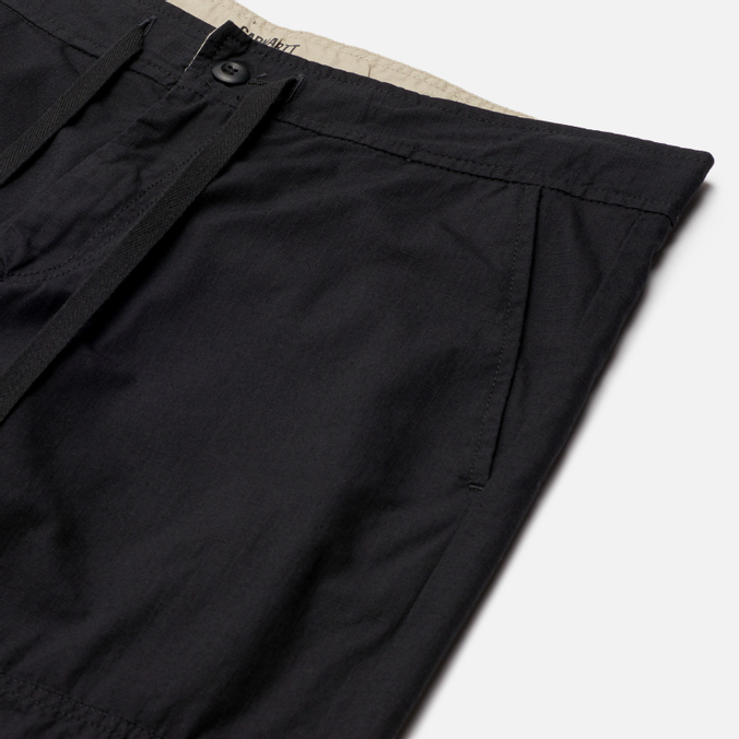 Carhartt WIP Marshall Jogger Men`s Trousers Black Rinsed