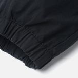 Мужские брюки Carhartt WIP Marshall Jogger 6.5 Oz Black Rinsed фото- 5