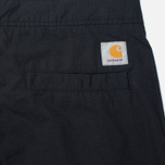Carhartt WIP Marshall Jogger Men`s Trousers Black Rinsed photo- 4
