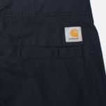 Мужские брюки Carhartt WIP Marshall Jogger 6.5 Oz Black Rinsed фото- 4