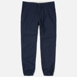 Мужские брюки Carhartt WIP Marshall Jogger 6.5 Oz Dark Navy Rinsed фото- 0