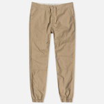 Мужские брюки Carhartt WIP Marshall Jogger 6.5 Oz Leather Rinsed фото- 0