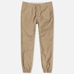 Мужские брюки Carhartt WIP Marshall Jogger 6.5. Oz Leather Rinsed фото- 0