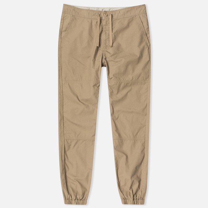 Carhartt WIP Marshall Jogger Leather Men`s Trousers Rinsed