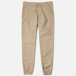 Мужские брюки Carhartt WIP Marshall Jogger 6.5 Oz Leather Rinsed фото- 1