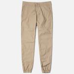 Мужские брюки Carhartt WIP Marshall Jogger 6.5. Oz Leather Rinsed фото- 1