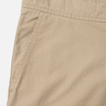 Мужские брюки Carhartt WIP Marshall Jogger 6.5 Oz Leather Rinsed фото- 2