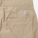 Мужские брюки Carhartt WIP Marshall Jogger 6.5 Oz Leather Rinsed фото- 5