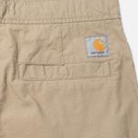 Мужские брюки Carhartt WIP Marshall Jogger 6.5. Oz Leather Rinsed фото- 5