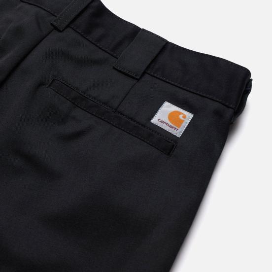 Мужские брюки Carhartt WIP Master 8.8 Oz Black Rinsed