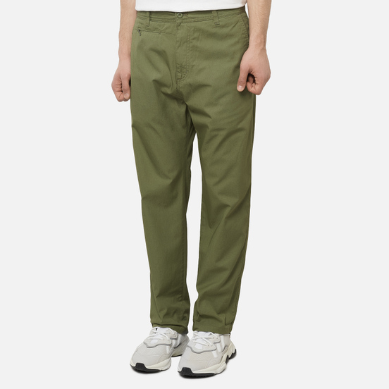Мужские брюки Carhartt WIP Memphis 6 Oz Dollar Green Rinsed