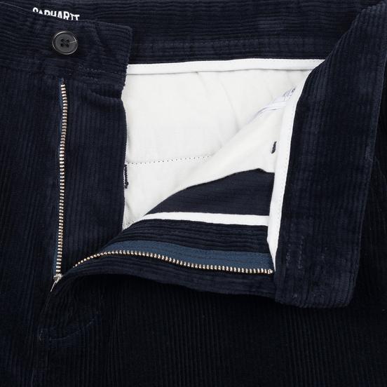 Мужские брюки Carhartt WIP Menson  9.7 Oz Dark Navy Rinsed