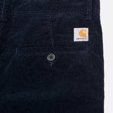 Мужские брюки Carhartt WIP Menson  9.7 Oz Dark Navy Rinsed фото- 4
