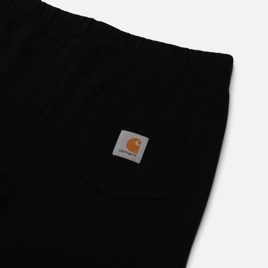 Мужские брюки Carhartt WIP Pocket Sweat 13.3 Oz Black