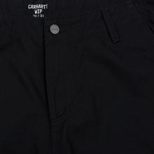 Мужские брюки Carhartt WIP Regular Cargo 6.5 Oz Black Rinsed фото- 1