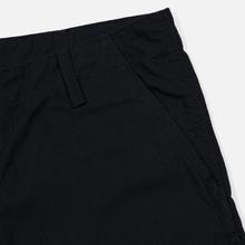 Мужские брюки Carhartt WIP Regular Cargo 6.5 Oz Black Rinsed фото- 3