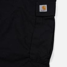 Мужские брюки Carhartt WIP Regular Cargo 6.5 Oz Black Rinsed фото- 5