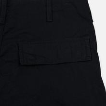 Мужские брюки Carhartt WIP Regular Cargo 6.5 Oz Black Rinsed фото- 4