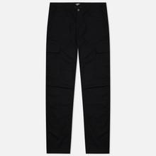 Мужские брюки Carhartt WIP Regular Cargo 6.5 Oz Black Rinsed фото- 0