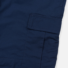 Мужские брюки Carhartt WIP Regular Cargo 6.5 Oz Blue Rinsed фото- 4