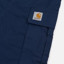 Мужские брюки Carhartt WIP Regular Cargo 6.5 Oz Blue Rinsed фото- 6