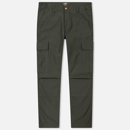 Мужские брюки Carhartt WIP Regular Cargo 8 Oz Moor Stone Washed