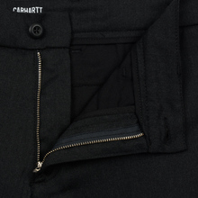 Мужские брюки Carhartt WIP Sid 6.5 Oz Black Heather фото- 2